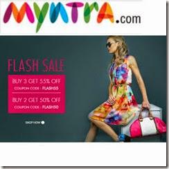 MYNTRA flash1