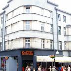 Mexican restaurant at the corner of Jagiellońska and Wolności Street.