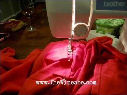 sew a tomato costume