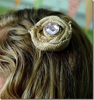 burlao hair clip on