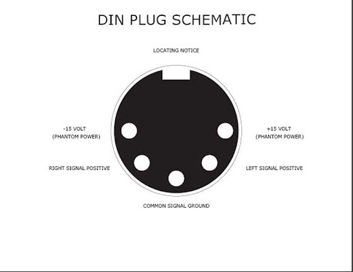 5 pin din phono wiring diagram