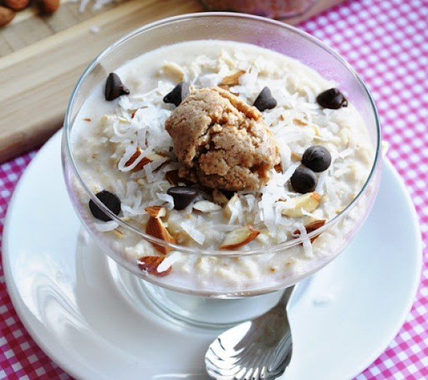 almond joy oatmeal 022