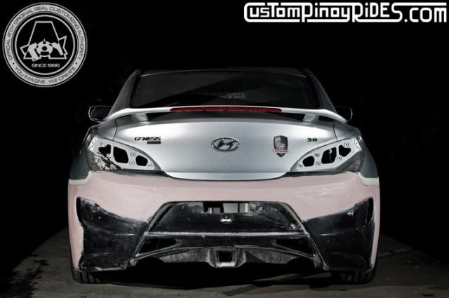 Atoy Customs Hyundai Genesis Amuse Vestito Body Kit Custom Pinoy Rides pic1