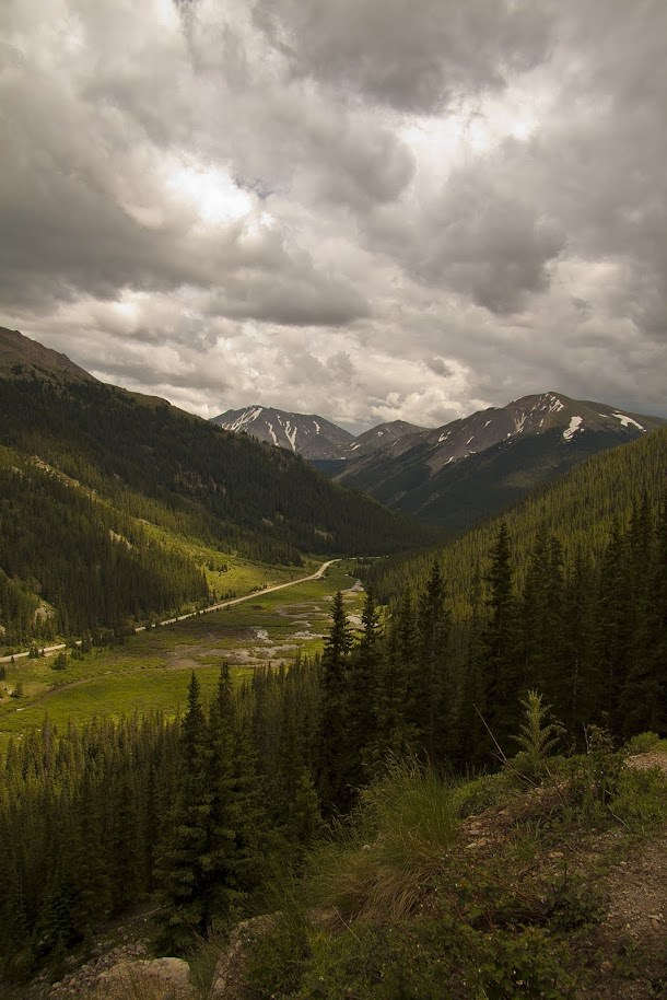 Valley During Independence Pass Descent