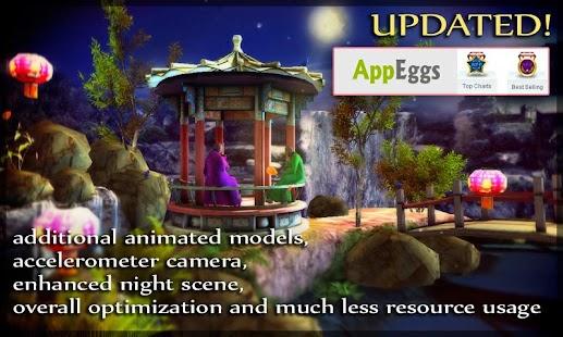 Water Falling Leaves Live Wallpaper Apk Oriental Garden 3d Pro Free Android App Market