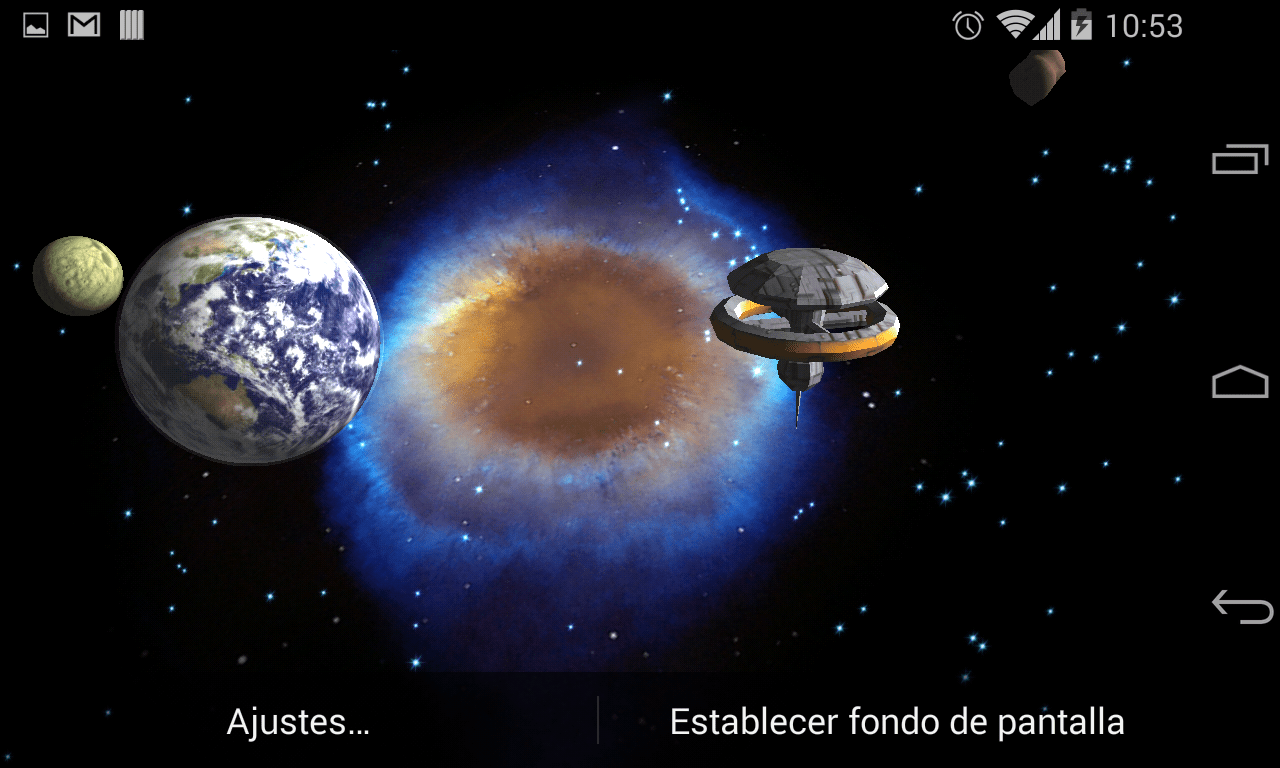 Earth 3d Live Wallpaper Windows 7 3d Galaxy Live Wallpaper Android Apps Auf Google Play