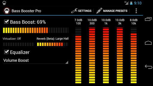 Bass Booster Pro v2.1 APK