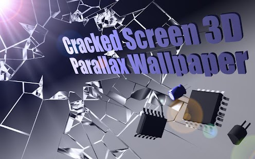3d Wallpaper Gyro Cracked Screen Gyro 3d Parallax Wallpaper Hd Android