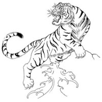 Tiger Tattoo Design Wallpaper