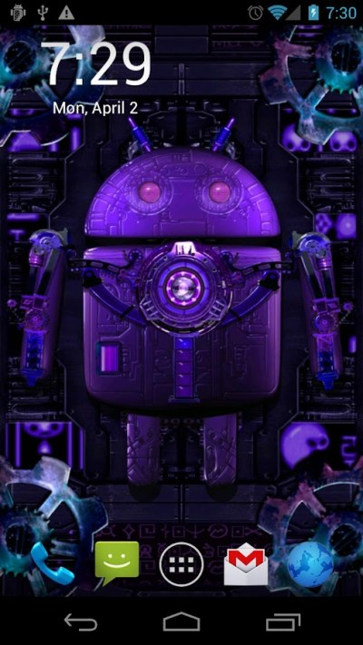 Steampunk Droid Live Wallpaper - Android Apps on Google Play