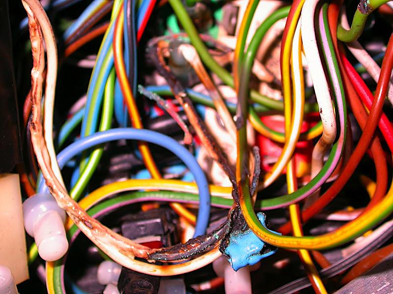 Melted wires in R90/6 headlight bucket Adventure Rider