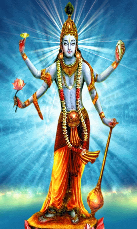 Lord Vishnu 3d Live Wallpaper Lord Vishnu Live Wallpaper Hd Android Apps On Google Play
