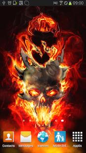 Magic Smoke 3d Live Wallpaper Apk Download Skull In Fire Magic Fx Apk On Pc Download