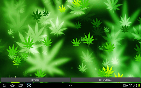 Falling Weed Live Wallpaper For Iphone Weed Hd Wallpaper Android Appcrawlr
