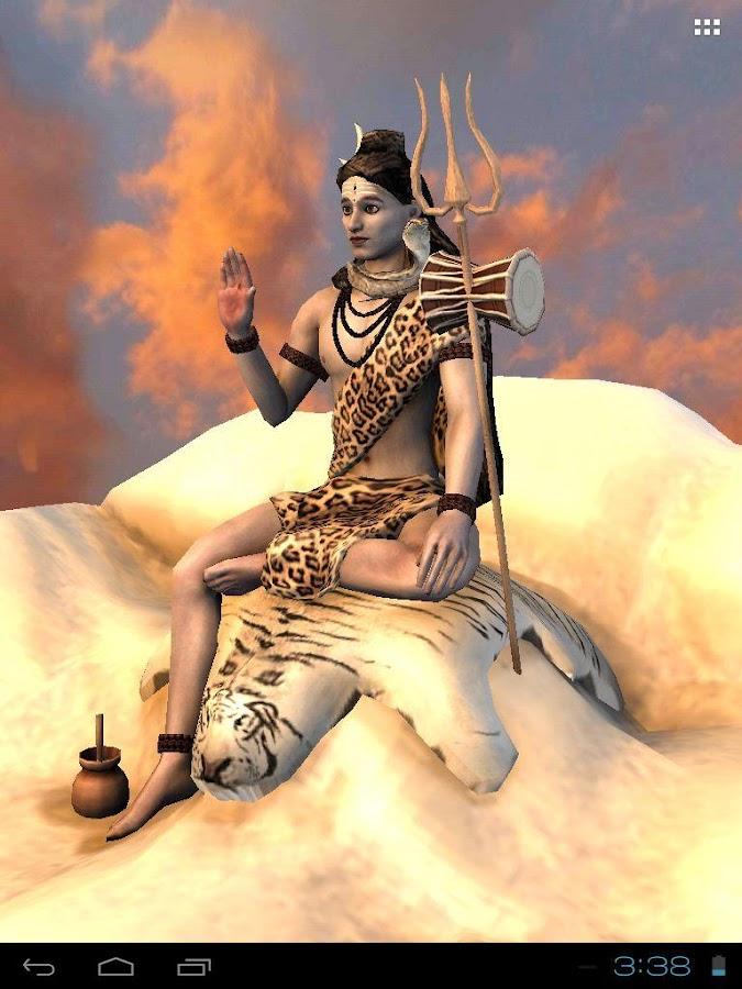 3d Mahadev Shiva Live Wallpaper 3d Mahadev Shiva Live Wallpaper Android Apps On Google Play