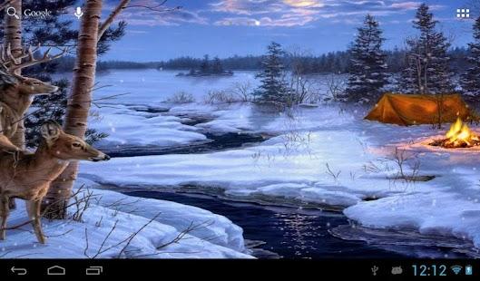 Live 3d Wallpaper Snowing App Winter Snow Live Wallpaper Apk For Kindle Fire