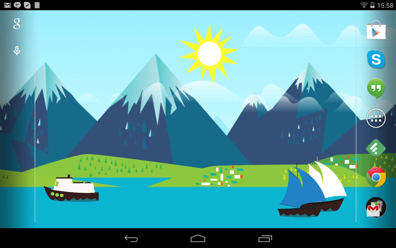 3d Live Wallpaper Parallax Mountains Now Free Wallpaper Android Apps On Google Play