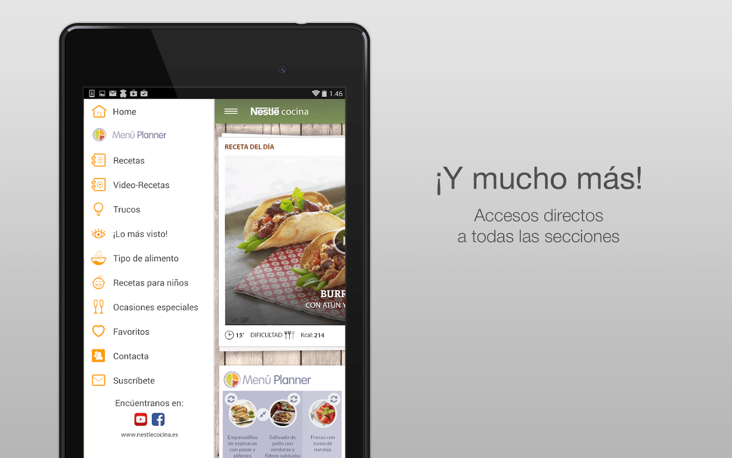 App Cocina Android Nestlé Cocina Android Apps On Google Play