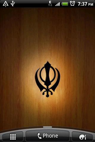 3d Khanda Wallpaper Sikh Live Wallpaper Android Apps On Google Play