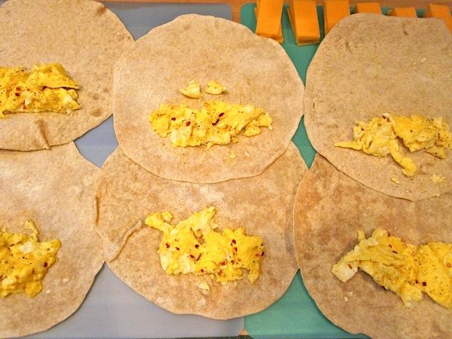 divide eggs