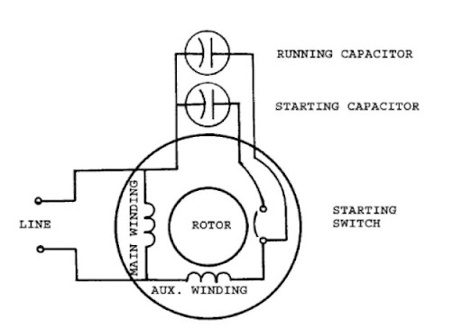 wiring diagrams in addition 230 volt single phase motor wiring
