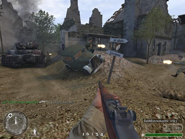 Call Of Duty 1 Gameplay