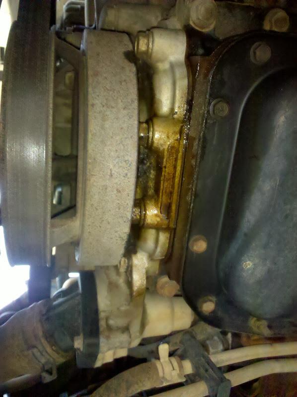 WJ 47 serious oil leak - JeepForum