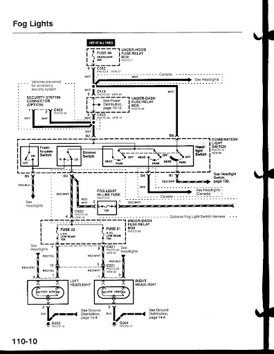 Mitsubishi Fog Light Wiring Diagram Wiring Diagram Library