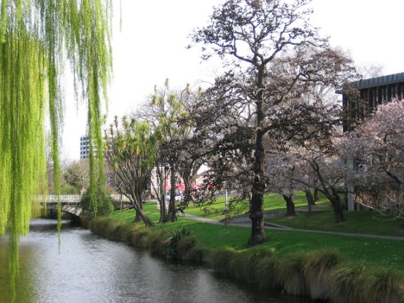 The Avon River, Christchurch