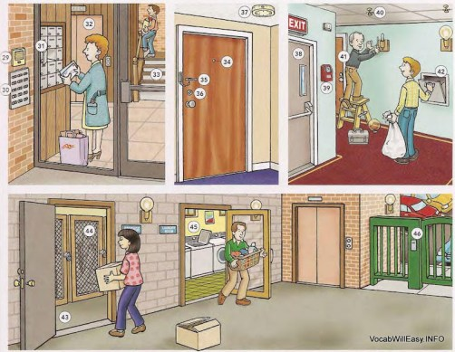 Garage Apartment Exit Apartments - Online Dictionary For Kids