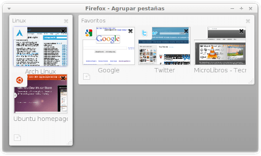 Agrupar Pestañas en Firefox 4 Beta 4