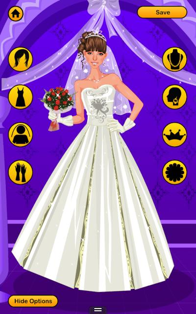 Wedding Dress Up Games - Free Bridal Look Makeover ...