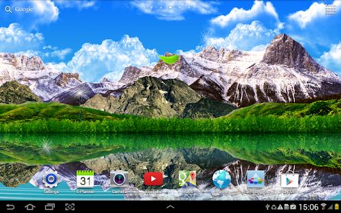 Water Falling Leaves Live Wallpaper Apk App Landscape Live Wallpaper Apk For Windows Phone