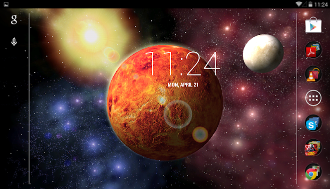 Gyroscope 3d Live Wallpaper Apk Full Unreal Space Hd V1 1 Apk