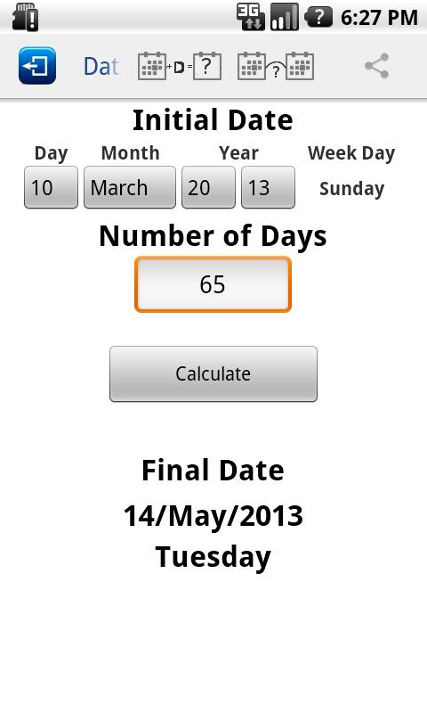 Gregorian Calendar Day Of Week For Any Date Determination Of The Day Of The Week Wikipedia Days Calculator Android Apps On Google Play