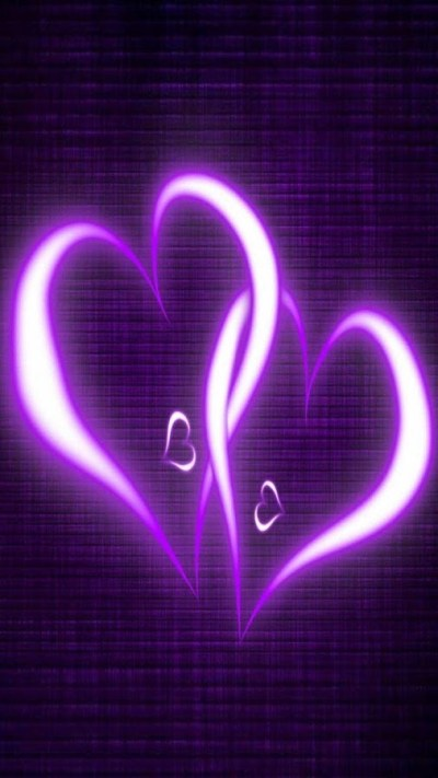 Purple Hearts Live Wallpaper - Android Apps on Google Play