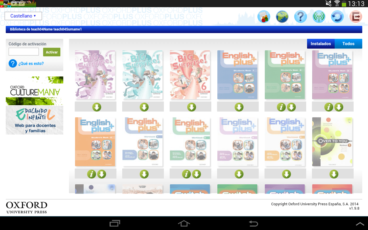 Oxford Libros Hijos Profesores Oxford Plus Android Apps On Google Play