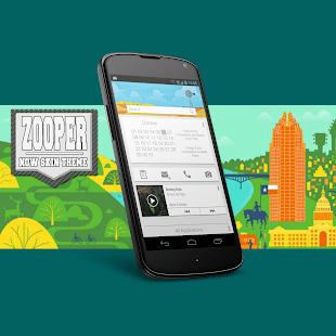How To Make A Calendar In Zooper Widget The Best Android Apps Makeuseof Zooper Now Skin Theme Android Apps On Google Play