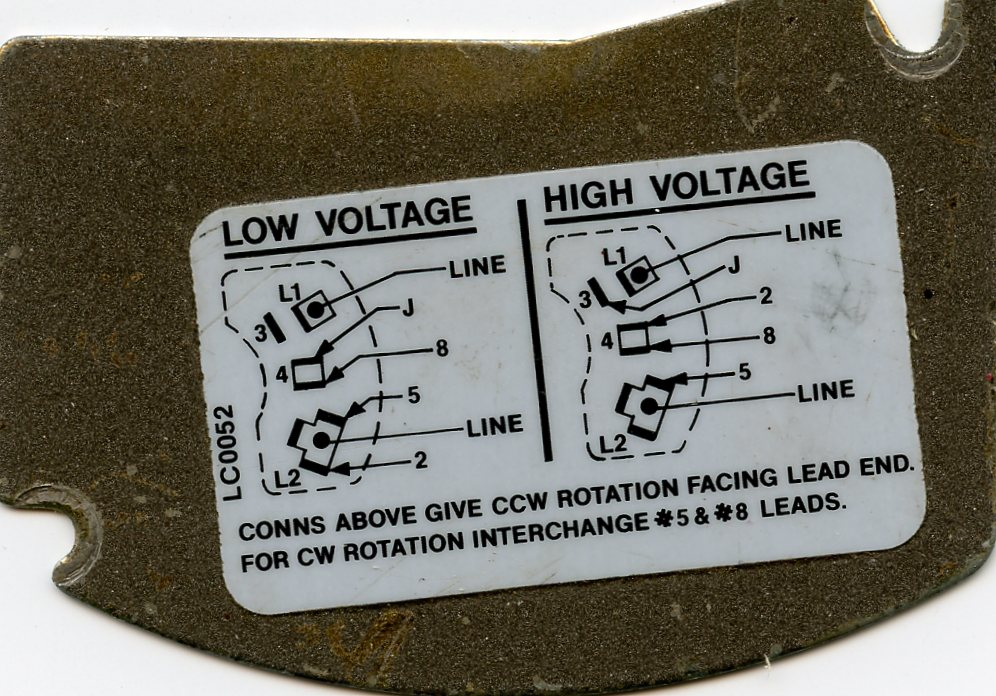230v Single Phase Rotation Change Wiring Diagram Index listing of