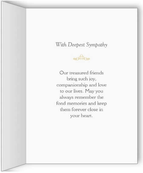 Dog sympathy cards, poems  quotes