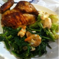 Roasted half chicken with 2 sidelines@BEN's Grocer, Publika