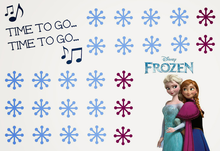 Free Printable Disney Frozen Potty Chart + Potty Training Tips