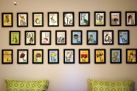 Kara's Korner: Nursery Room - Alphabet Wall Decor