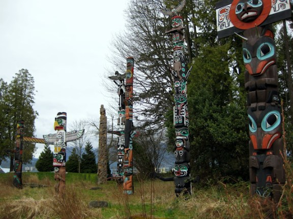 One of the great things to do in Vancouver: Stanley Park totem poles