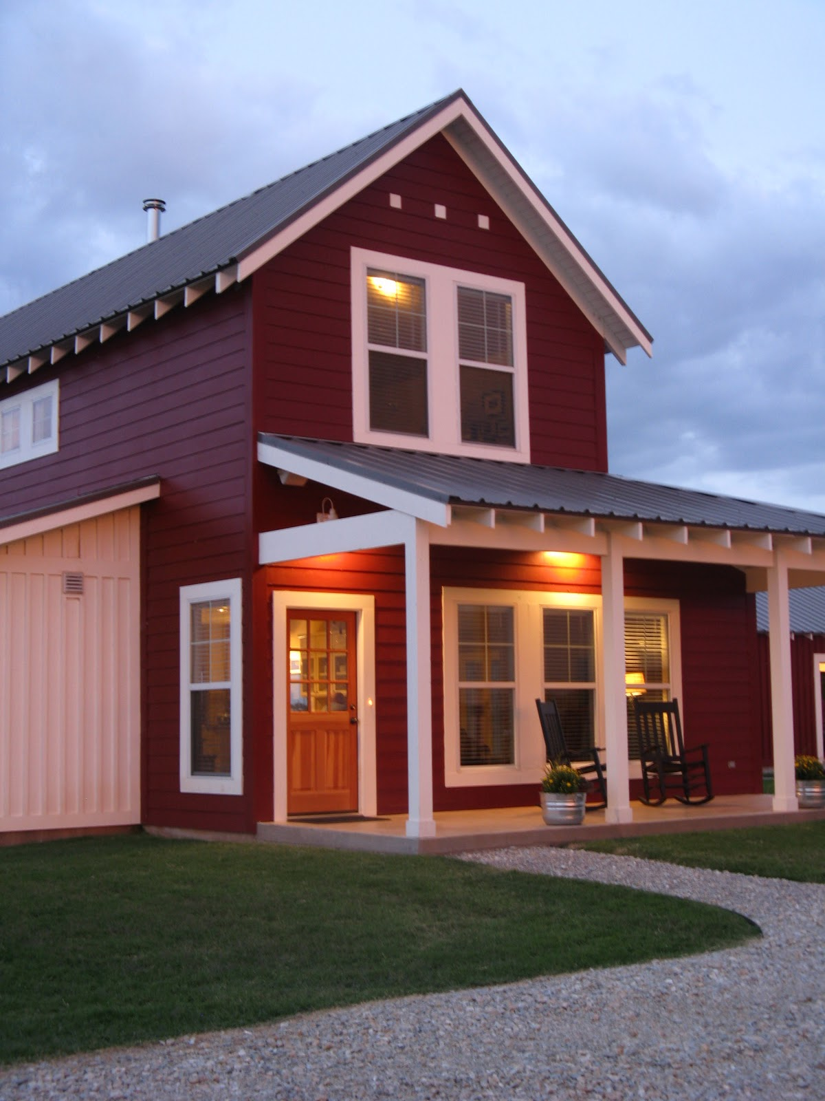 Farmhouse Exterior Colors With Metal Roof Everyday Ruralty Barn Chicks Blog Interview With Kim