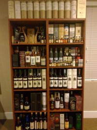 Ideas for bourbon shelving/storage : bourbon