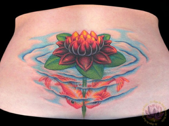lower back tattoo ideas for girls