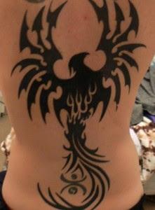 black Phoenix tattoos