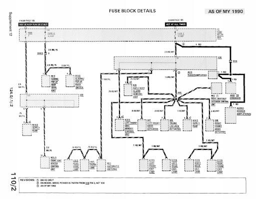 1966 mercedes 230s wiring diagram