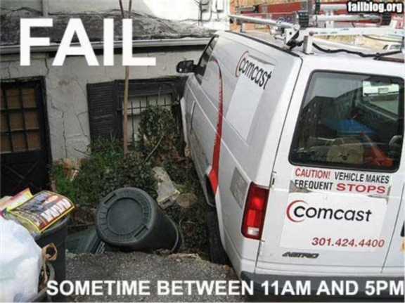 mean ol\u0027 meany An Update of the Failure of Comcast to Offer Even
